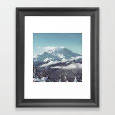 Misty Mountian Framed Art Print