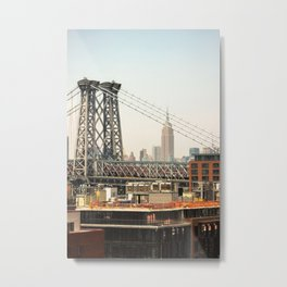 Open Up Your Mind Metal Print