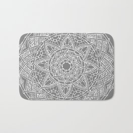 Family: forever intertwined (gray) Bath Mat