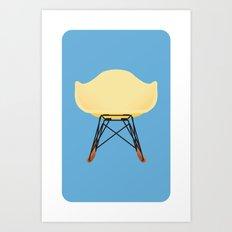 Eames RAR Art Print