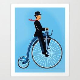 Big Wheel Art Print