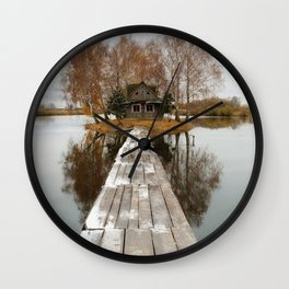 SMALL COTTAGE Wall Clock