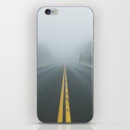 Driving through Fog iPhone Skin