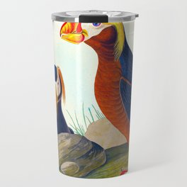 Tufted Auk Bird Travel Mug