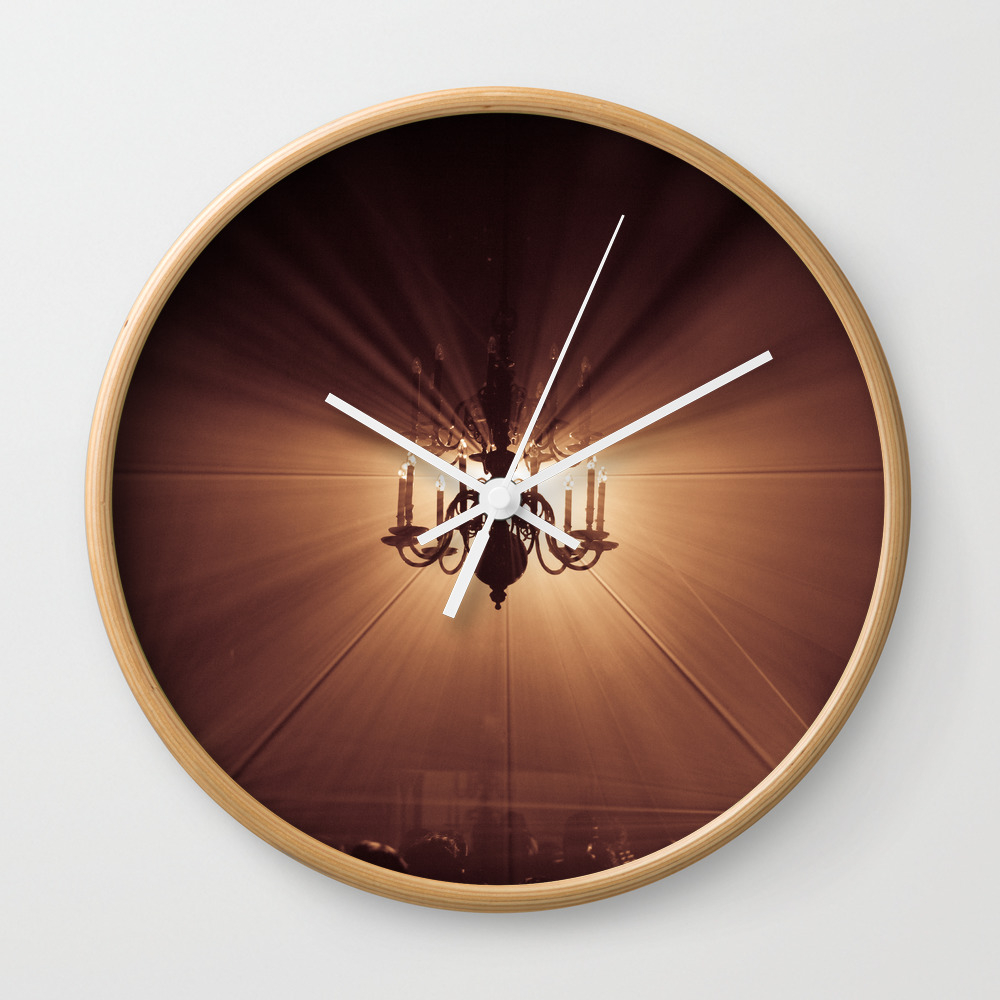 Behind The Candelabra Wall Clock by Danielfornissria CLK8414407