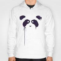 panda Hoodies featuring Panda by Tobe Fonseca