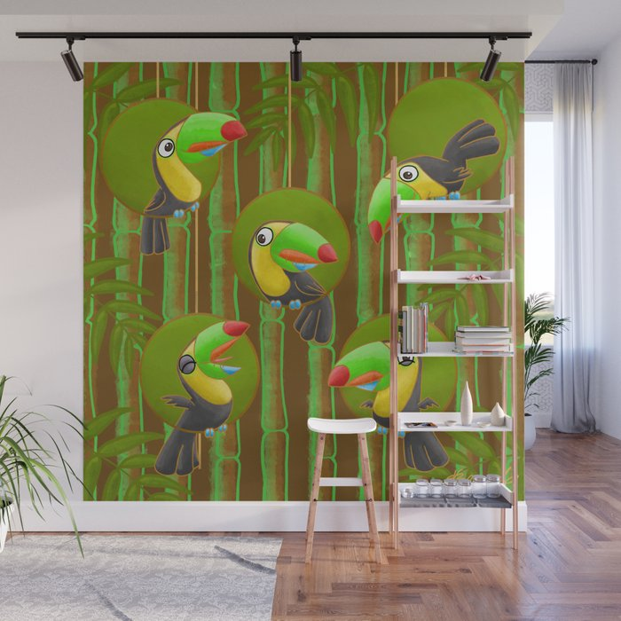Toucan Party! Wall Mural