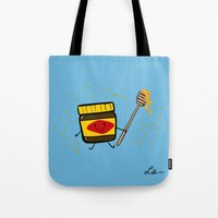 Vegemite Honey Tote Bag
