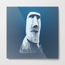 Moai #1 Metal Print