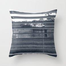 Black & White Background Throw Pillow