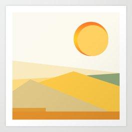 Sonoran Desert 3 Art Print