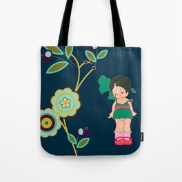 little miss zeesha Tote Bag
