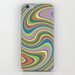 Twist and Shout-Jardin colorway iPhone Skin