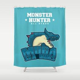 Monster Hunter All Stars - Moga Sea Dogs Shower Curtain