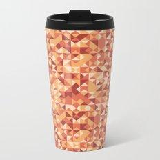 Abstract autumn pattern Metal Travel Mug