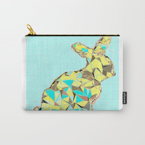 Spring bunny Carry-All Pouch
