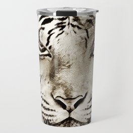 Tiger or woman Travel Mug