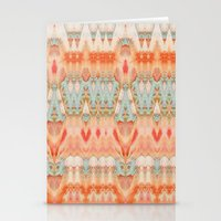 peach Stationery Cards featuring Peach by Zephyr