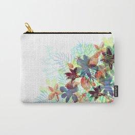 Acqua Floral Carry-All Pouch