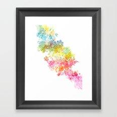 satori Framed Art Print