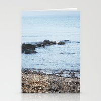 denmark Stationery Cards featuring Denmark Beach by Kayleigh Rappaport