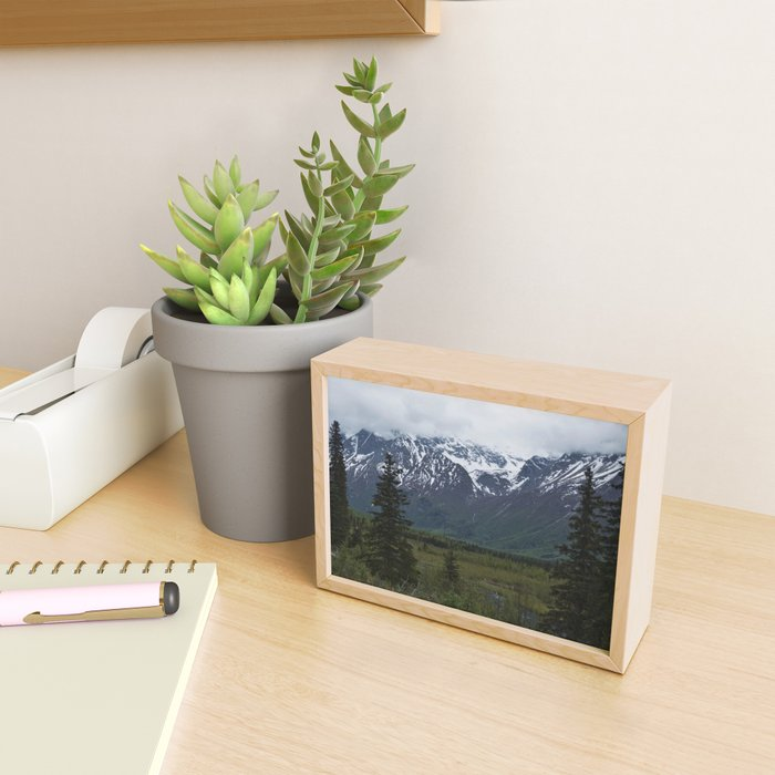 Fresh Mountain Air Framed Mini Art Print
