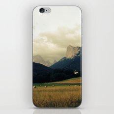 Harvest before rain iPhone & iPod Skin
