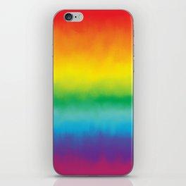 Watercolor Rainbow iPhone Skin