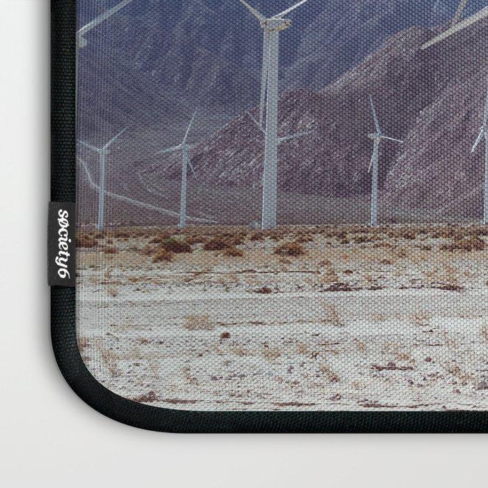 Palm Springs Windmills II Laptop Sleeve