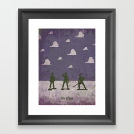 Small soldiers toy story Framed Art Print