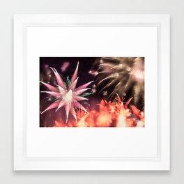 Fireworks - Philippines 2 Framed Art Print