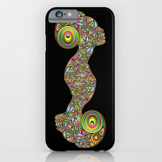 Woman Psychedelic Art Design Portrait iPhone & iPod Case
