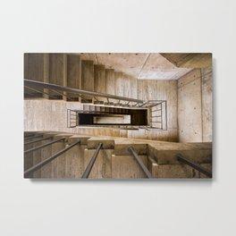 Escher & Kahn Metal Print