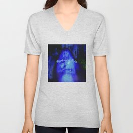 Constance the Ghostly Black Widow Bride in the Attic Unisex V-Neck