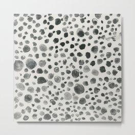 Speckles Metal Print