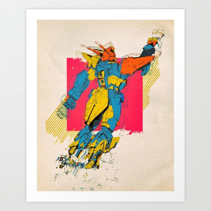 360 TOMAHAWK (everyday 02.09.19) Art Print