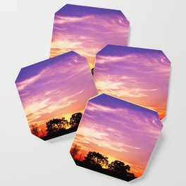 East Texas Sunset Coaster