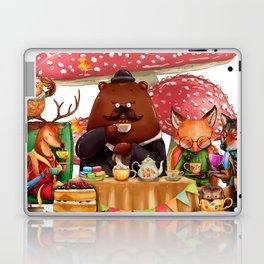 Autumn tea party #3 Laptop & iPad Skin