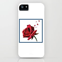 Rose and rose and rose iPhone Case