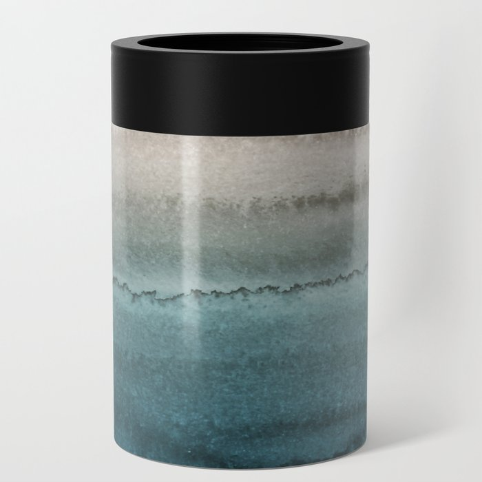 WITHIN THE TIDES - CRASHING WAVES TEAL Can Cooler