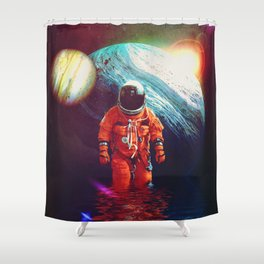 Up To Knees Shower Curtain
