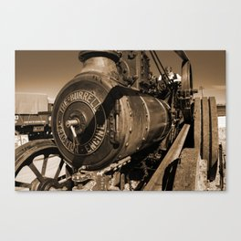 The Burrell Engine Canvas Print