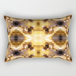 Autumn Tiles Rectangular Pillow