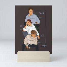 SKAM the Isak(s) Mini Art Print