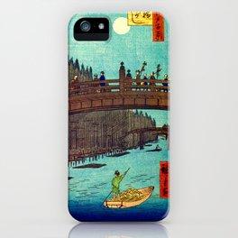 Beautiful Evening Across The Bridge iPhone Case
