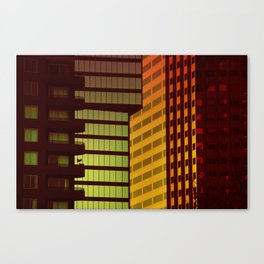 It's all Shapes and Colors - Downtown Los Angeles #68 Canvas Print