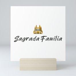 Sagrada Familia souvenir Mini Art Print
