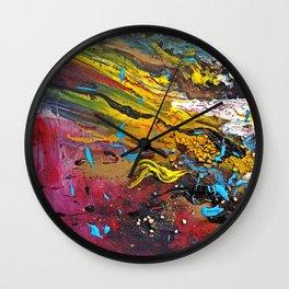 silent chaos Wall Clock
