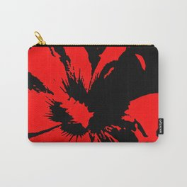the red flower Carry-All Pouch