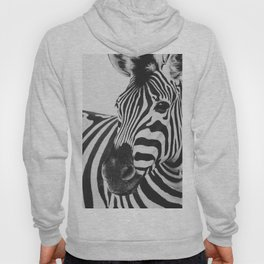 The Thoughtful Zebra Hoody